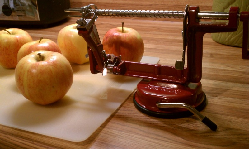 Williams Sonoma Apple Corer Peeler Slicer