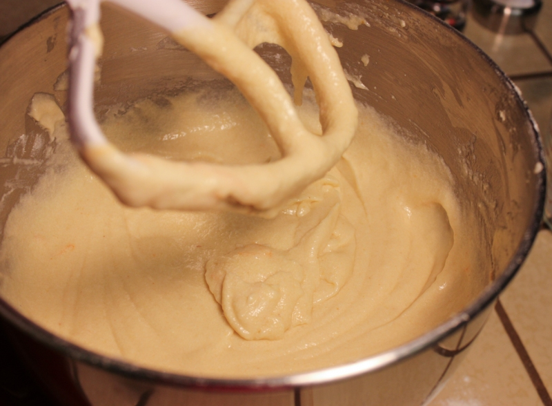 Finished batter.