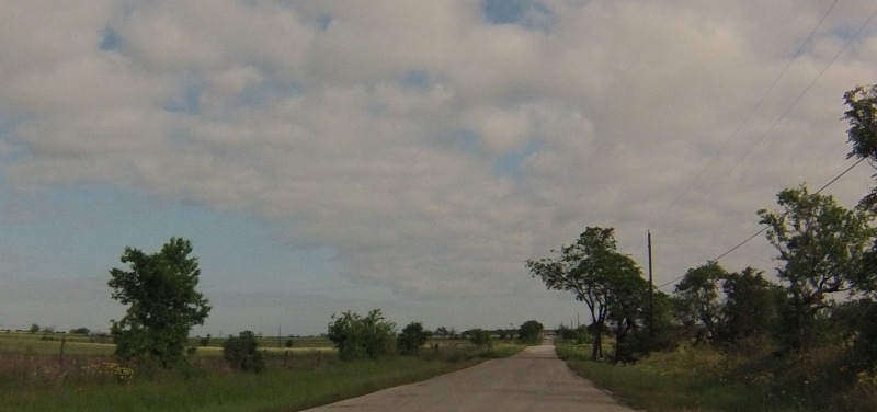 Lots of flatness on the first part of the ride.