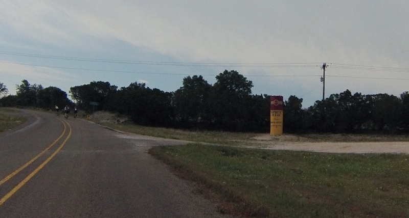 There's a town called Oatmeal. It has a giant Oatmeal can. No idea if this is the center of town, because really it's just an intersection in the middle of nowhere.