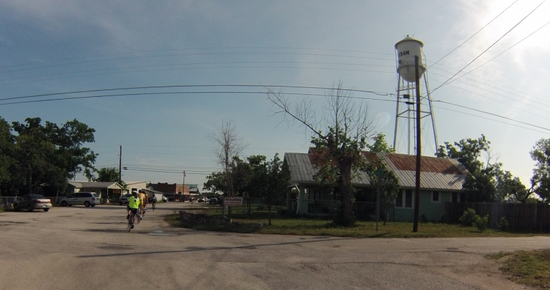 The little town of Bertram, Texas.