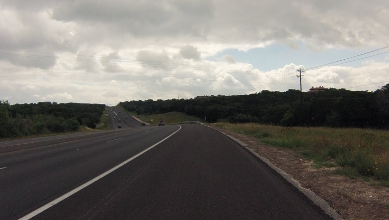 Bee Caves road, recently repaved apparently.