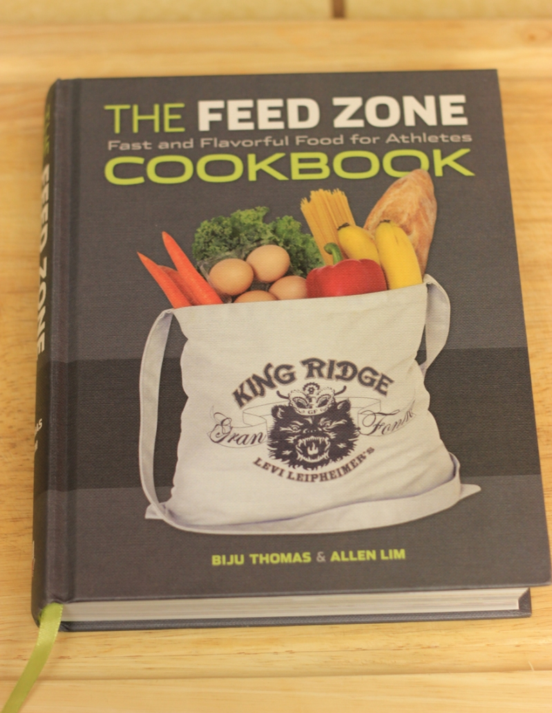 The Feed Zone Cookbook, source of the original recipe