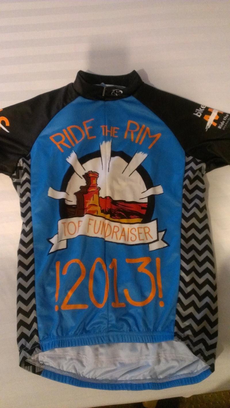 Top fundraiser jersey!