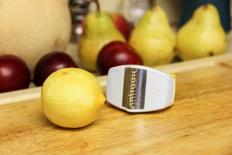 Lemon zest!